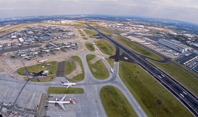Heathrow aerial