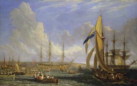 hms bellerophon and napoleon